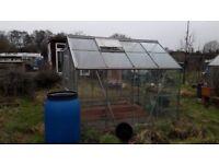 Aluminium Greenhouse 8 x 6