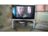 """Panasonic 42"""" HD Plasma TV, DVD Recorder with Hard Disk and Stand"""