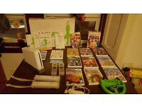 Nintendo Wii + Wii fit and lot of games