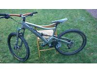 Orange 5 mountain bike medium size ONO