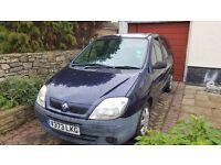 Renault Megane Scenic, 2000 V Reg, 6 months MOT