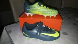 Nike JR Mercurial Vortex 3 (V) CR7 FG Boots Kids Size 11