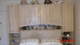 Surround bed unit and. Wardrobe for sale
