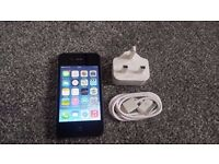 IPhone 4s 16GB Hardly Used/No Scatches/Immaculate Condition.