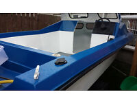 Fishing boat trailer mariner 30hp outboard