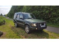 2003 03 reg landrover discovery td5 7 seater half leather interior