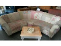 DFS DOLL PATCHWORK CORNER SOFA CAN DELIVER FRE