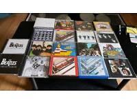 THE BEATLES COMPLETE 18 CD STUDIO ALBUM'S .SOME SEALED.