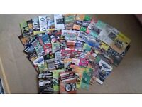 Mallory Park Programmes 2 & 4 Wheels, 60 in total