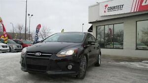 2013 Ford Focus Titanium   Power Moonroof   Leather Upholstery