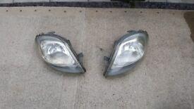 Vivaro trafic headlights pre facelift
