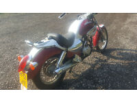 KYMCO HIPSTER 125 CHOPPER STYLE. 12 MONTHS MOT GOOD LOOKING BIKE