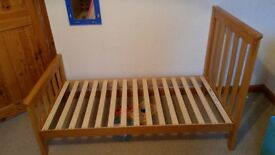 cot bed mothercare