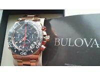Bulova Men's Precisionist Champlain Chronograph 98B213 BNIB