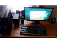 Gaming PC i-7 4790K, 16gb RAM, GTX980, SSD 250gb, HDD 750gb+monitor, keyboard