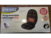 Homedics Progammable Chair Cover Massager with Heat