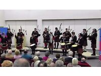 BAG PIPERS & DRUMMERS WANTED