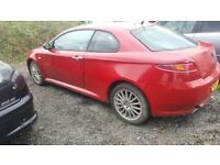 ALFA GT 1.9 JDT 6 SPEED IN RED. 2004. SOME MINOR ISSUES. SEE ADVERT. NEW MOT. 79000