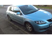 Mazda 3 Ts2 - 2007 - only 77730 miles £1300