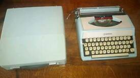 Litton imperial typewriter in case