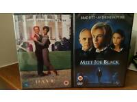 Two amazing movies on DVD - Brand new in packaging and unopened