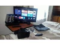 Ultra thin LED Tv with Stuff