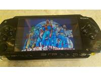 PSP With 5000 Games Loaded