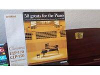 yamaha clavinova clp 150 full size 88 weighted keys
