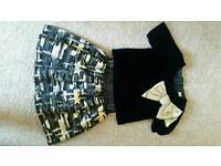 Girls party outfit size 5 years