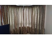 Chocolate brown Curtains for sale