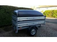 New Brenderup Car trailer 1205s +extension sides+Abs lid.