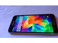 Samsung galaxy s5 open to any network perfect condition