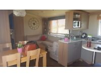 GORGEOUS 3 BED 6 BERTH STATIC CARAVAN AT DEVON CLIFFS FOR RENT. NO PETS, PRESTIGE WITH DECKING