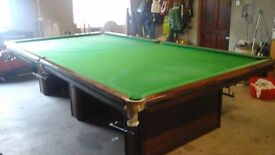 Full Sized Snooker Table (12' x 6') £550 ono
