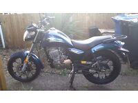 Zontes mantis 125cc blue