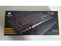 Corsair Gaming K70 Cherry MX Red Mechanical Keyboard