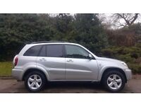 TOYOTA RAV4 AUTOMATIC, 55 REG, 66K MILES ENGINE, MOT, HPI CLEAR, DELIVERY AVAILABLE, DRIVES MINT