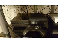 Microsoft Xbox One Console Black 500GB/GO With Kinect Bundle Plus 1 Game