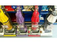 Reconditioned Dyson vacuums