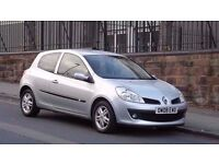 2008 Renault Clio 1.2 Expression 3 Door Hatchback, Full Service History, Long MOT, Must be seen!