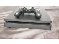 Slimline Playstation 4 500GB Boxed as new