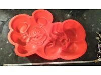 Mickey mouse disney silicone mould