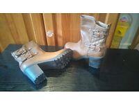 Ladies Ankle Boots - Colour tan