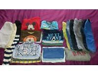 Baby boys 12-18 months clothes bundle (32 items)