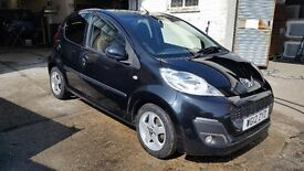 Peugeot 107 (41720 miles) £2950 automatic 1yr mot 2 owners