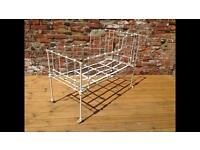 French metal cot