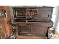 Up-right Piano. Used and tuned 2 years ago but kids left home so needs a new home now