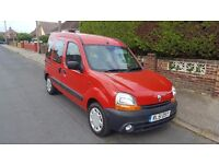2002 Renault Kangoo Chairman 1.4 Wheelchair Accessible Vehicle Disabled Access Ramp Car