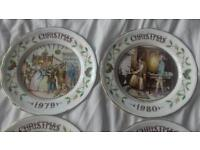 Aynsley set of 4 plates by Lawrence woodhouse
