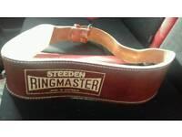 Steeden ringmaster weight belt